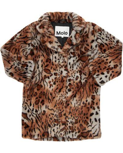 Пальто из искусственного меха Molo