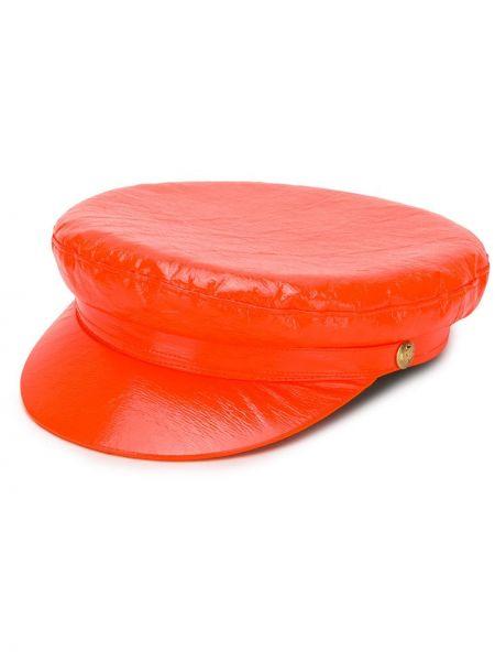 Оранжевая кепка Manokhi