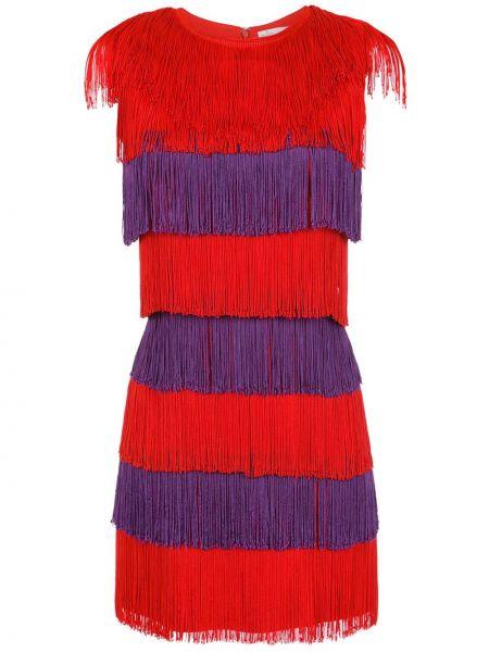 Платье с бахромой с рукавами НК
