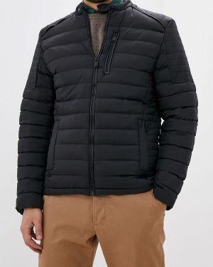 Утепленная куртка демисезонная черная Dissident