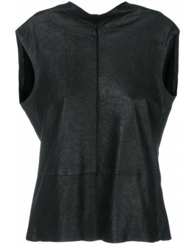 Блузка без рукавов приталенная прямая Vanderwilt