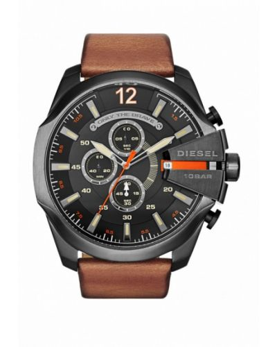 Часы коричневый Diesel