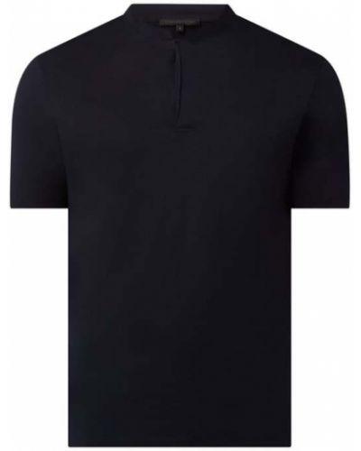 Niebieski t-shirt bawełniany krótki rękaw Drykorn