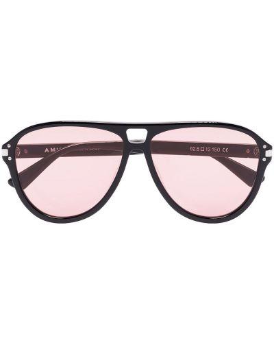 Czarne okulary Amiri