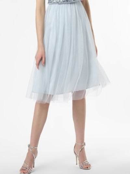 Niebieska spódnica z cekinami Hailey Logan