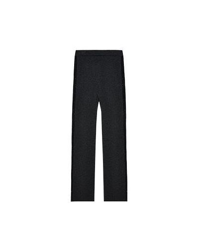 Серые прямые брюки Fabiana Filippi