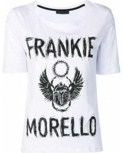 Футболка белая прямая Frankie Morello