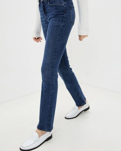 Прямые синие прямые джинсы Mavi