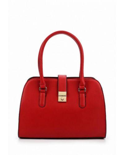 Красная кожаный сумка Zarina