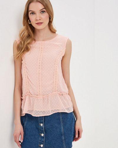 Блузка без рукавов розовая весенний Top Secret
