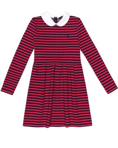 Платье в полоску стрейч Polo Ralph Lauren Kids