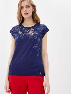 Синяя футболка с короткими рукавами Begood