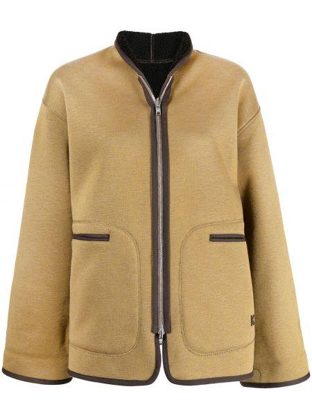 Куртка двусторонняя - желтая Kenzo