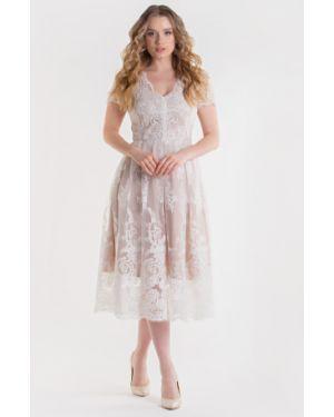 Вечернее платье платье-сарафан на молнии Filigrana