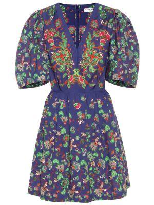 Летнее платье мини с цветочным принтом Givenchy