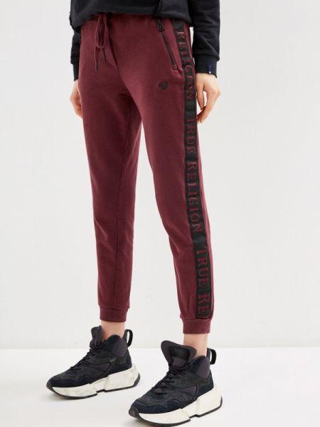 Спортивные брюки бордовый красный True Religion