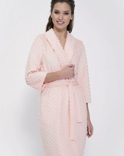Розовый халат Cleo