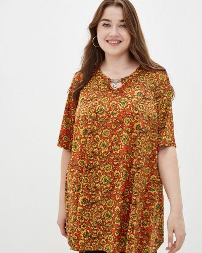 Красная весенняя блузка Prewoman