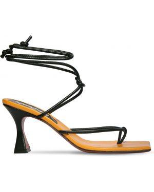 Сандалии на каблуке Manu Atelier