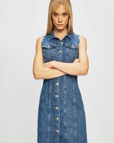 Джинсовое платье с карманами прямое Levi's®