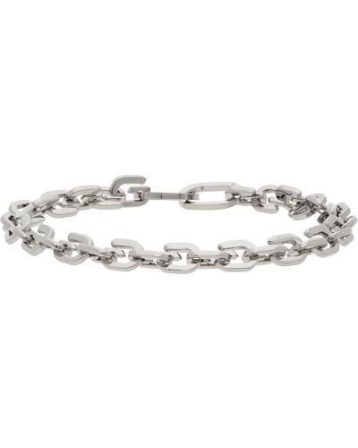 Bransoletka łańcuch srebrna Givenchy