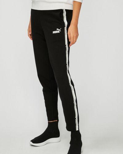 Спортивные брюки на резинке зауженные Puma