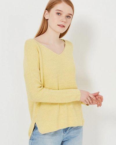 Желтый пуловер Zarina