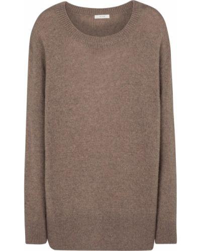 Коричневый кашемировый свитер The Row