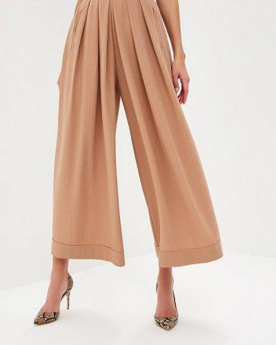 Бежевые брюки повседневные Tutto Bene