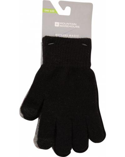 Czarne rękawiczki z akrylu Mountain Warehouse