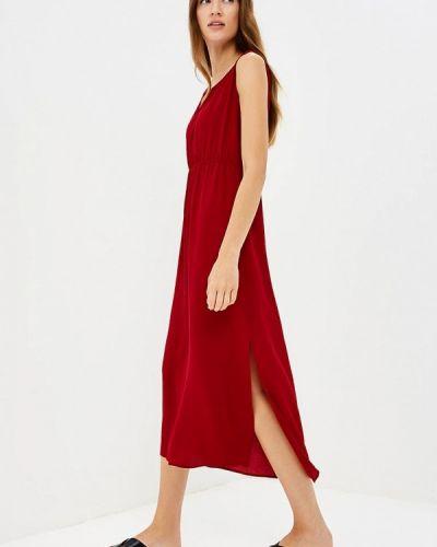 Платье весеннее красный Iwie