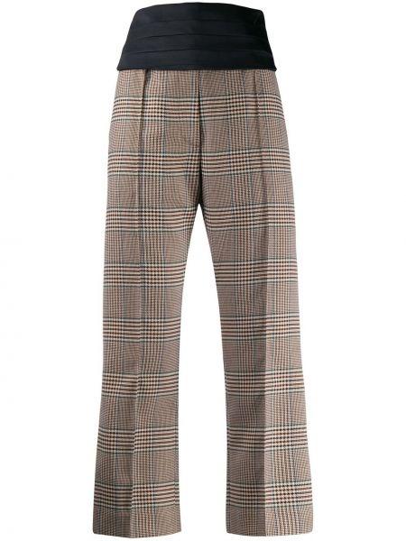 Spodnie culotte wysoki spodni Mm6 Maison Margiela