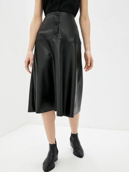 Платье кожаное черное Concept Club
