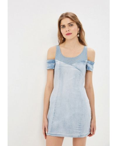 Джинсовое платье Love Republic