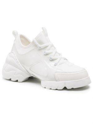 Białe sneakersy Gino Rossi