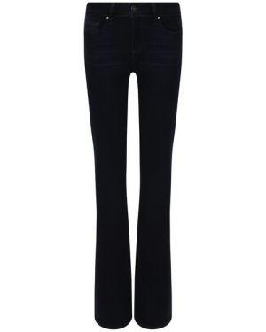 Расклешенные джинсы офисные синие Paige