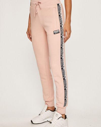 Брюки на резинке с карманами с поясом Adidas Originals