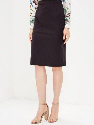 Бордовая юбка летняя La Biali