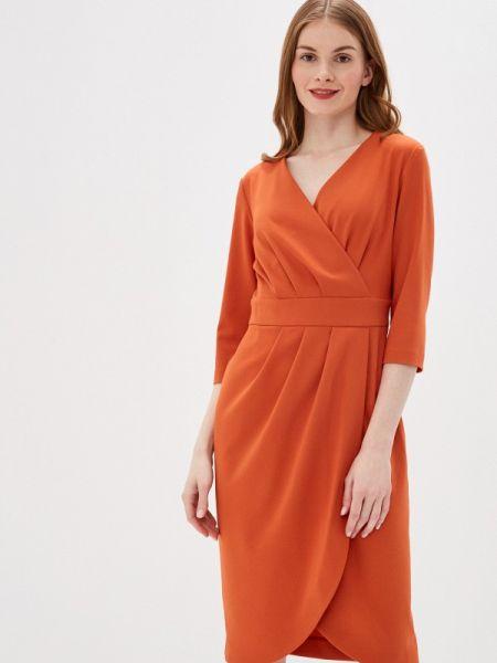 Платье с запахом осеннее Likadis