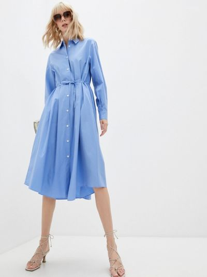 Платье рубашка - голубое Paul & Joe