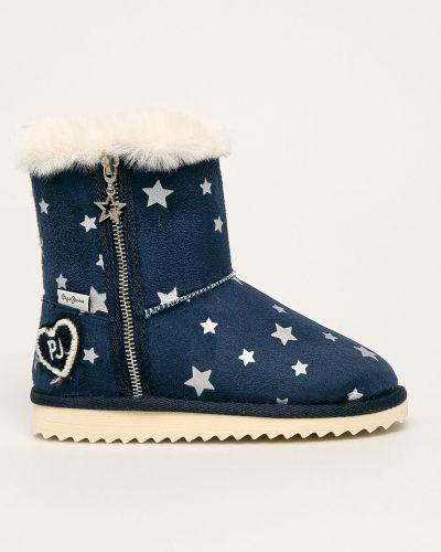 Джинсы теплый темно-синий Pepe Jeans
