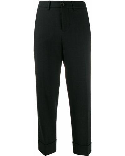 Укороченные брюки с карманами с поясом Incotex