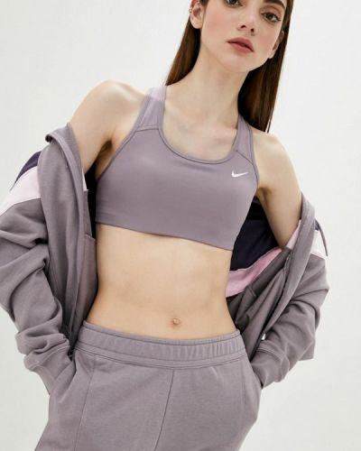Спортивный топ - фиолетовый Nike