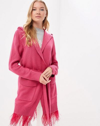 Розовый кардиган Grand Style