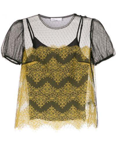 Блузка из фатина прозрачная НК