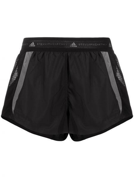 Спортивные шорты черные для бега Adidas By Stella Mccartney