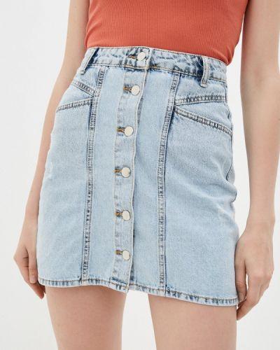 Голубая джинсовая юбка Dali