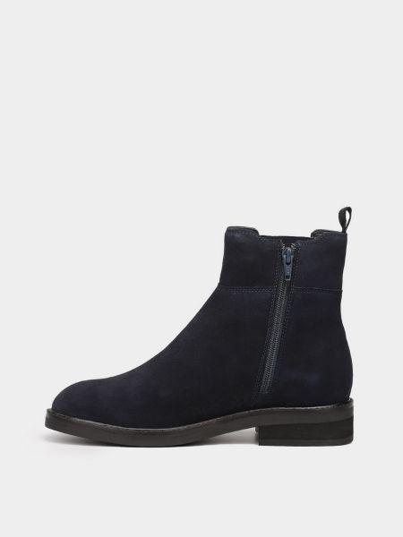 Ботинки челси - синие Braska