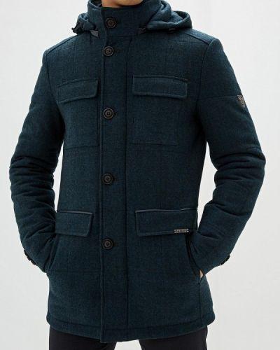 Синяя короткая куртка Bazioni