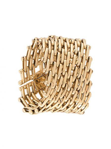 Bransoletka ze złota metal złoto Christian Dior